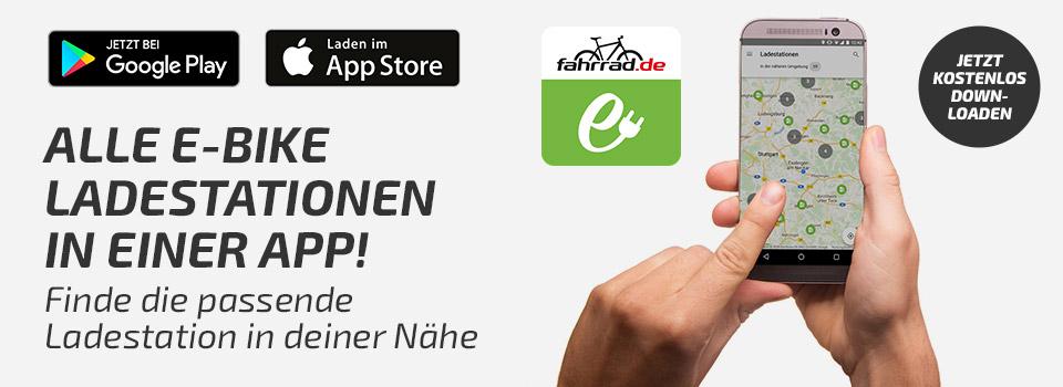 App für eBike Ladestationen