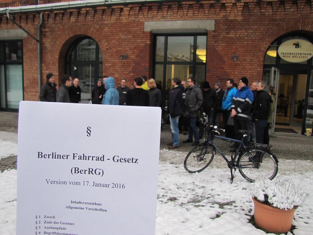 Radgesetz Berlin Volksentscheid Fahrrad