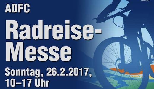 ADFC Radreise Messe 2017 Vorschau
