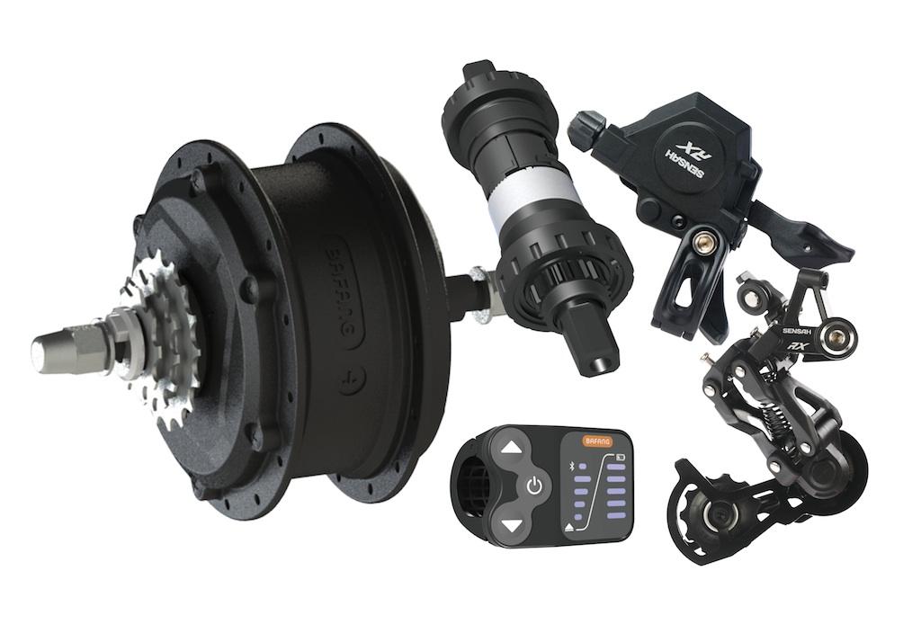 Bafang System G353 Hinterradmotor