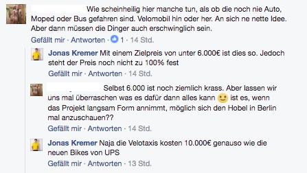 Cit-Car Zielpreis Facebook Jonas Kremer