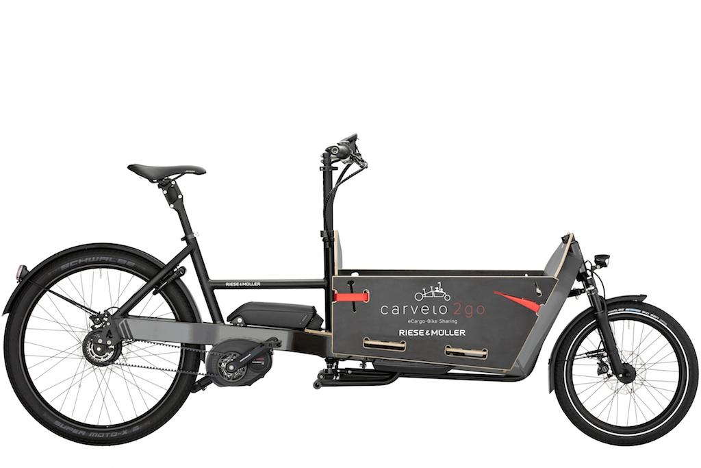 Riese & Müller eCargo Bike Packster - carvelo2go