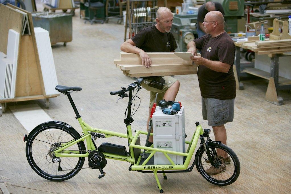 Lastenrad Load von Riese und Müller